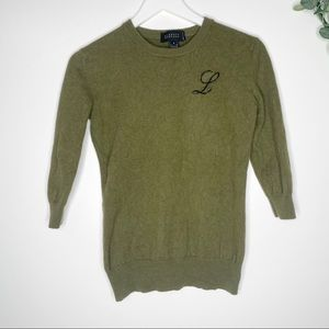 Barney's New York 100% Cashmere Sweater Small